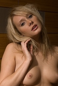 Denisa is a hot blonde girl